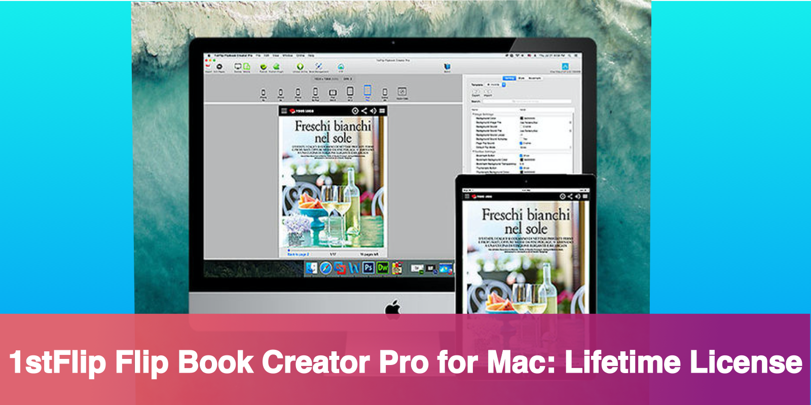$29.99 1stFlip Flip Book Creator Pro for Mac Lifetime License