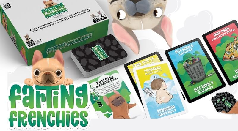 $17.99 Farting Frenchies A Card Game