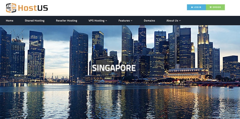 2021's January, $24/year HostUS KVM Singapore VPS