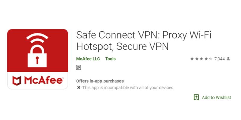 30+ McAfee Safe Connect VPN Alternatives and Related VPNs App