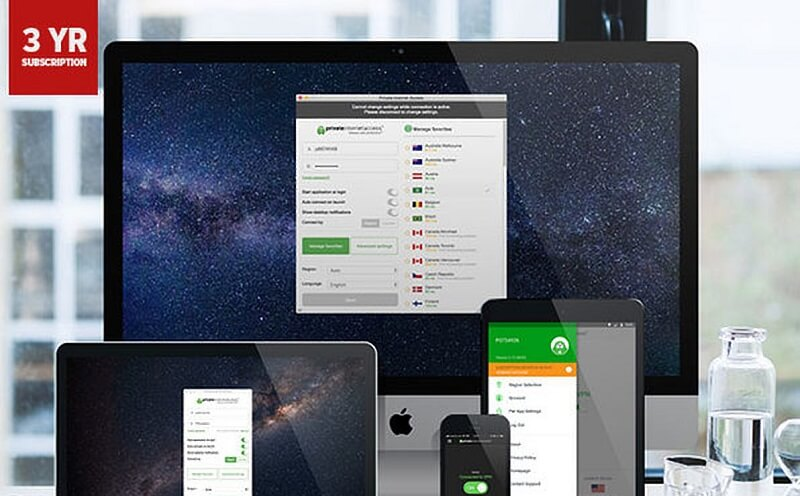 $79.99 Private Internet Access VPN 3-Year Subscription