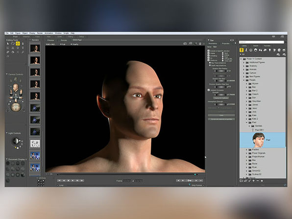 Poser Pro 3D Art + Animation Software for Windows & Mac