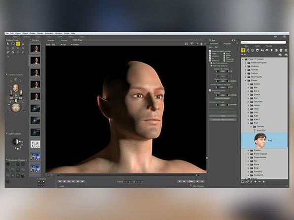 Poser Pro 3D Art + Animation Software for Windows & Mac