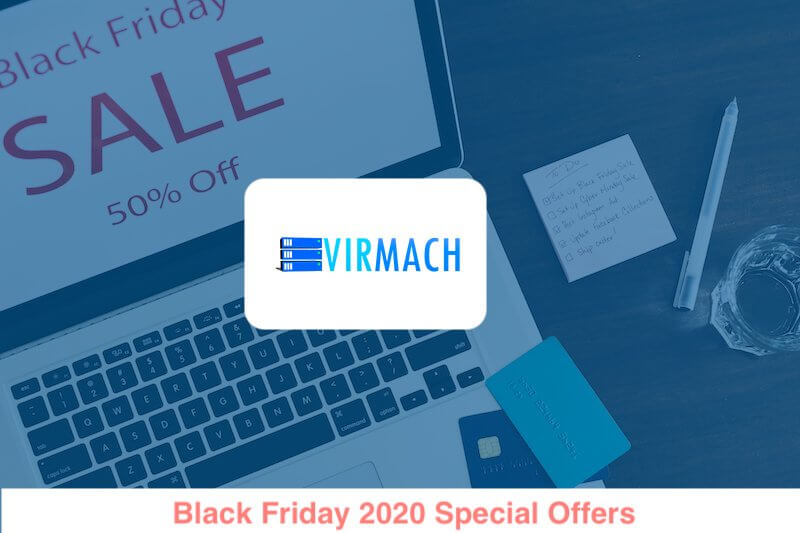 VirMach Black Friday 2020 Special Offers