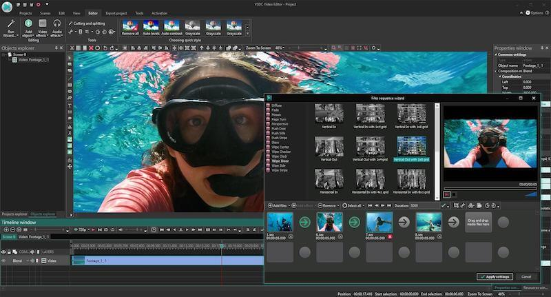 $29.99 VSDC Video Editor Pro Lifetime License